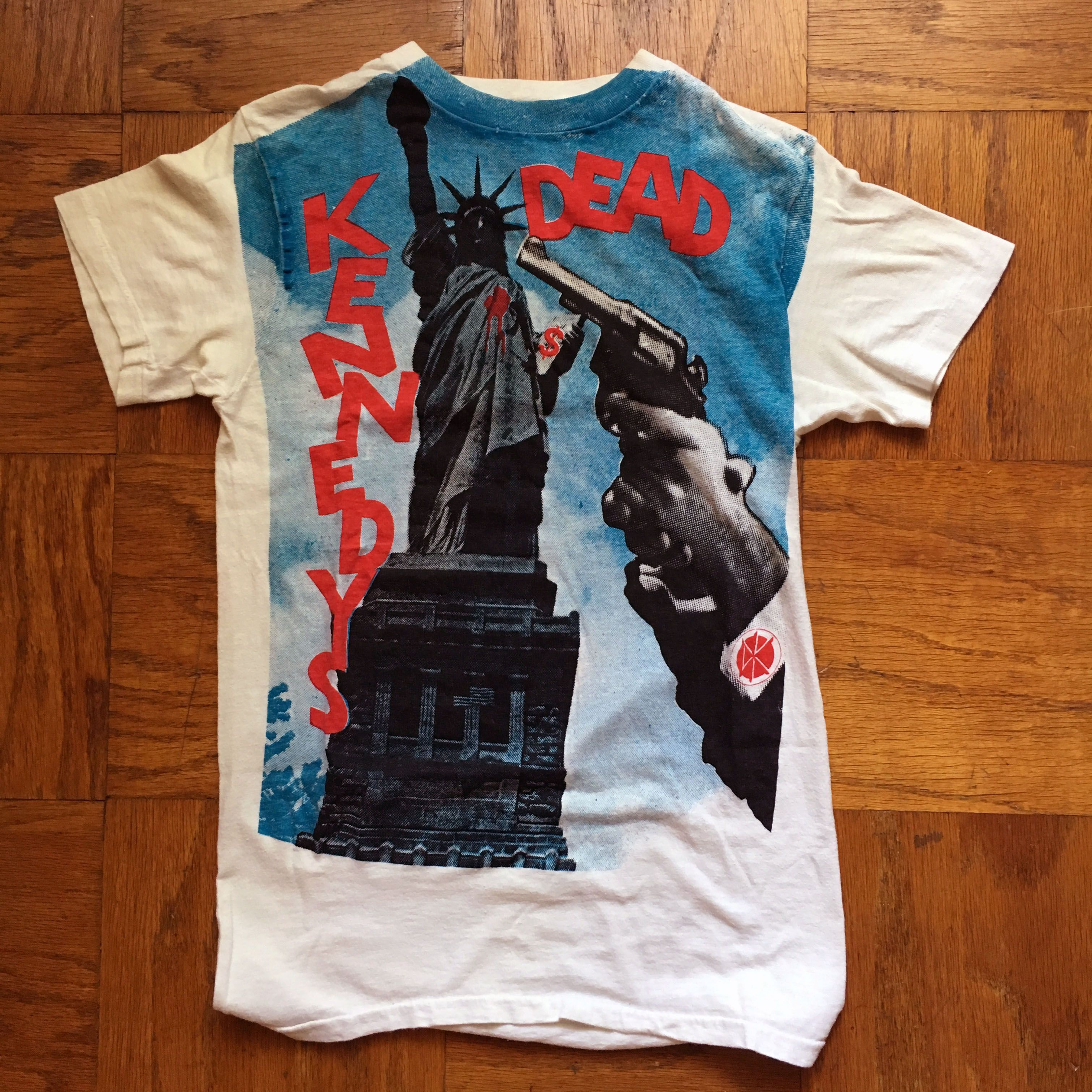 c263ab8d3 This is one awesome Dead Kennedys shirt.Fifth Column super rare 1982 Statue  of Liberty design.