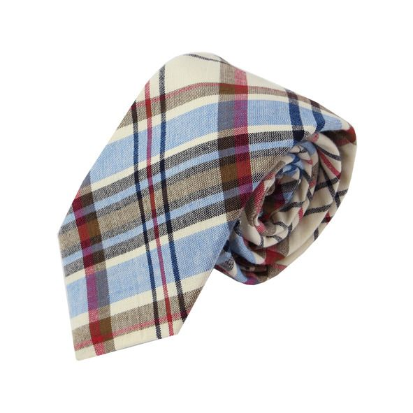 Sky, Tan, Crimson Tie | Gifts for Him | Krinkle Gift