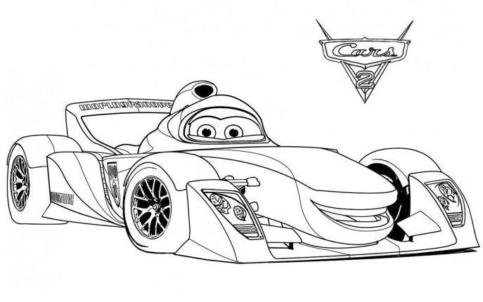 Cars 1 Dibujos Para Colorear | Pinterest | Cars