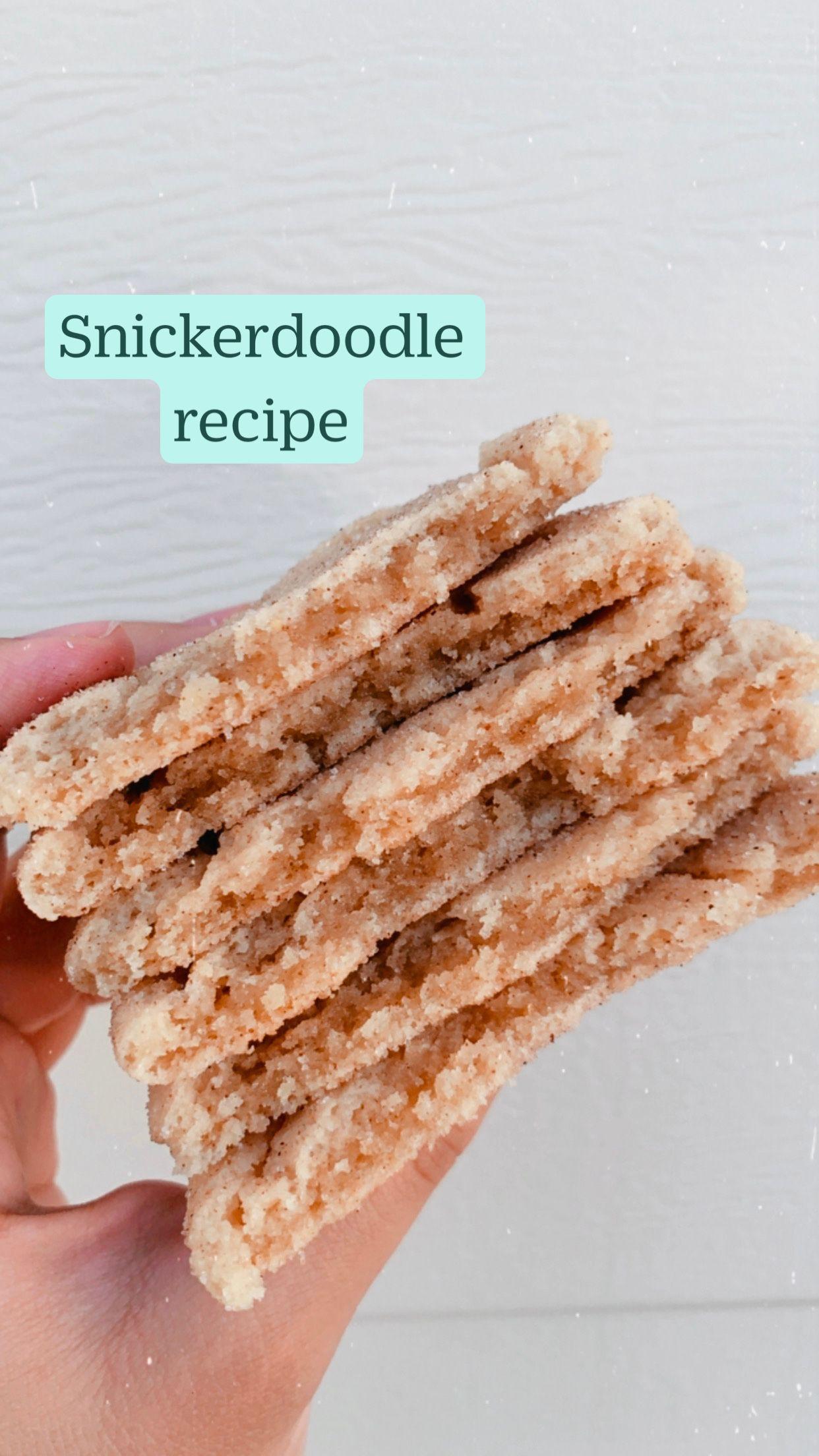 Snickerdoodle recipe