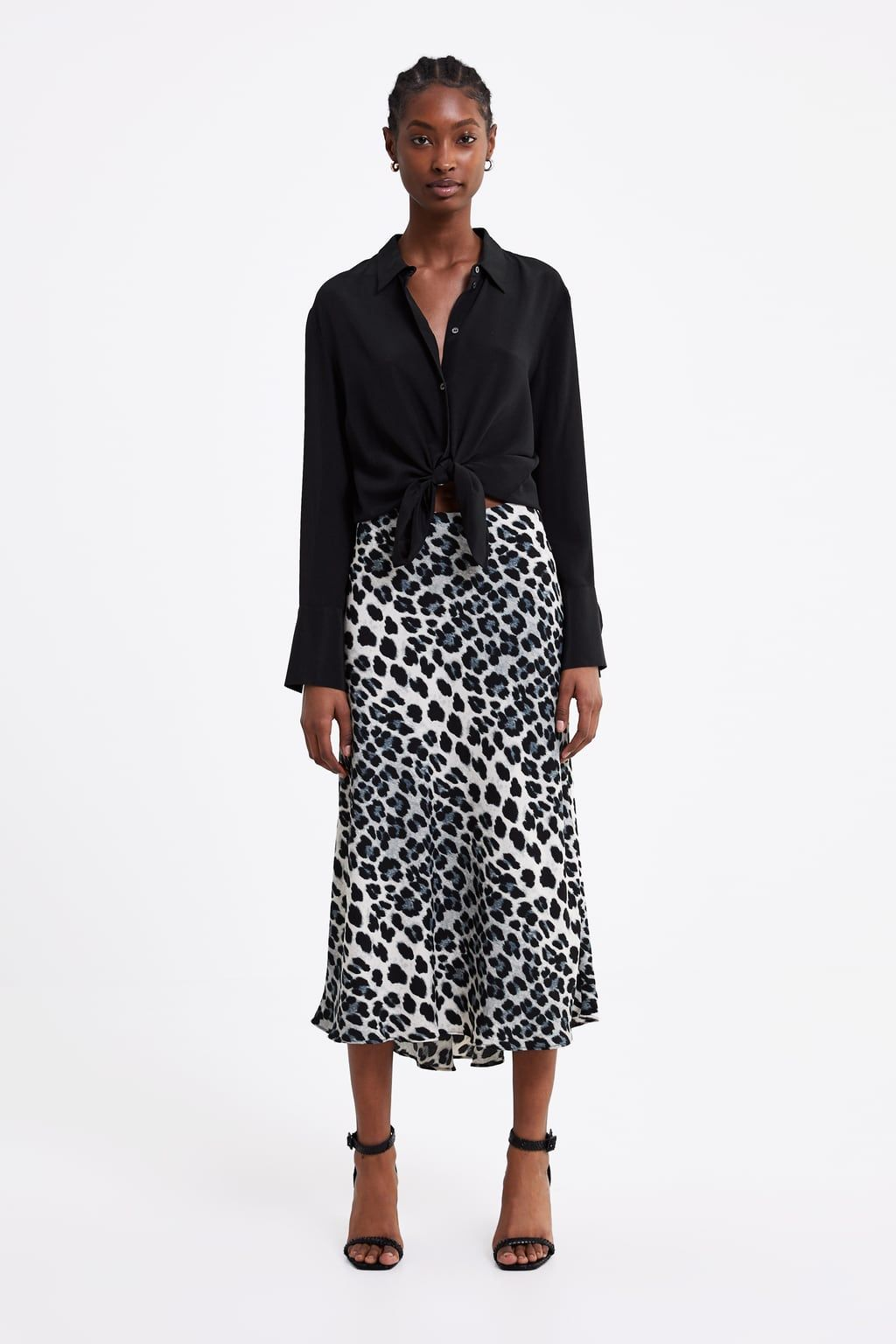 53256ec7e45a4 Animal print skirt in 2019 | Fashion - Skirts | Animal print skirt ...