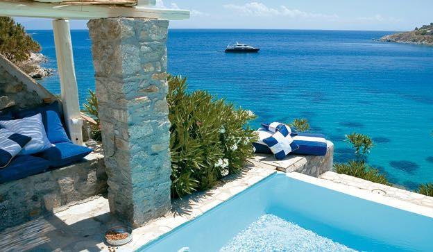 Pion For Luxury Mykonos Blu Greece