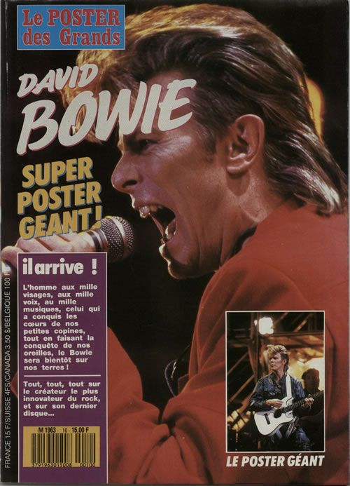 Le Poster Des Grands (French) - 1987