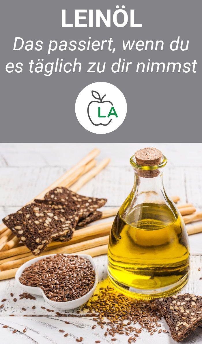 Ist Leinöl gesund? Diese Wirkungen hat es auf deinen Körper!