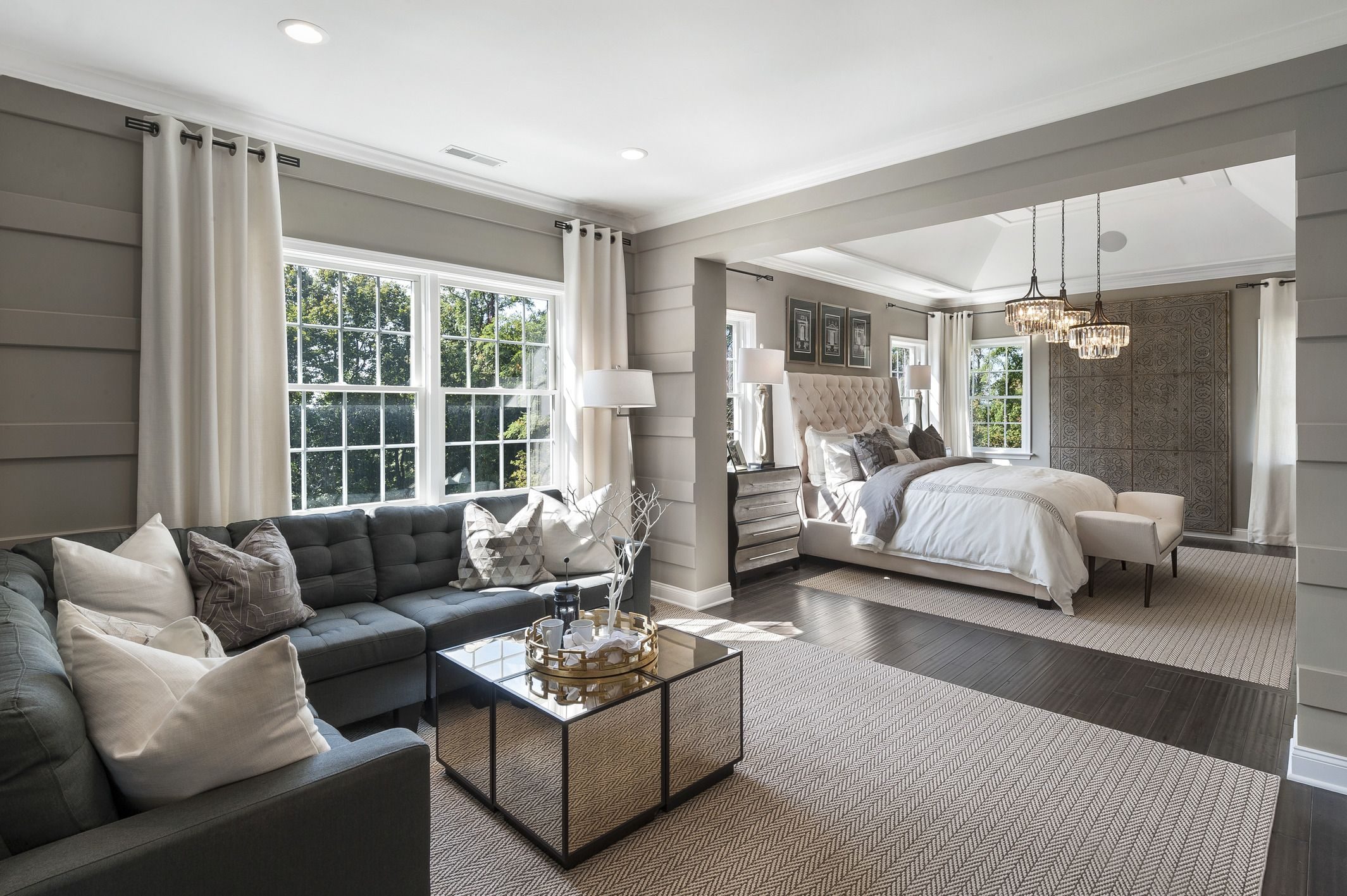sit and relax in your master bedroom with a sitting area perfect for morning ev luxury dream designer inspired bed sets