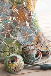 Ravelry: #07 Crochet Circles Afghan pattern by Mari Lynn Patrick