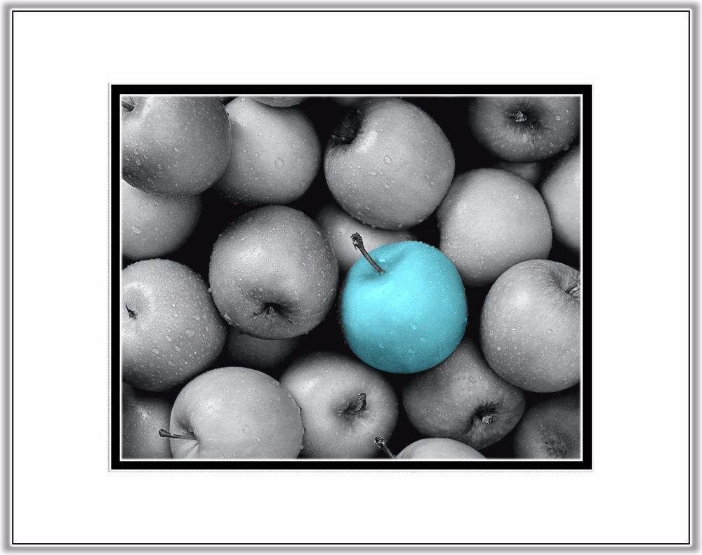 Turquoise gray kitchen wall art photo print home decor teal aqua