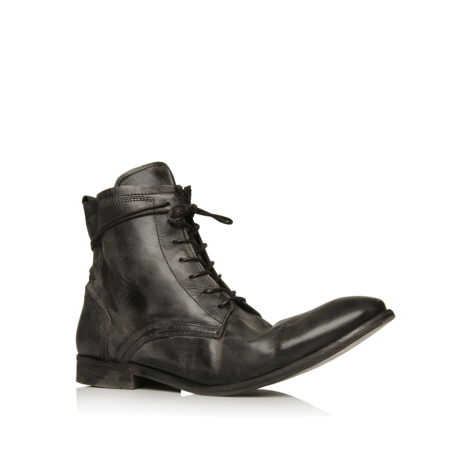 swathmore sfty wrp bt, black shoe by h by hudson -