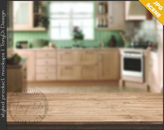 Kitchen Table Close Up 8 empty close-up wood table top | jpg styled stock scene ktc2