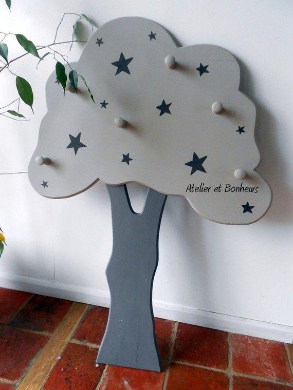 porte manteau pour enfants cr ation atelier et bonheurs. Black Bedroom Furniture Sets. Home Design Ideas