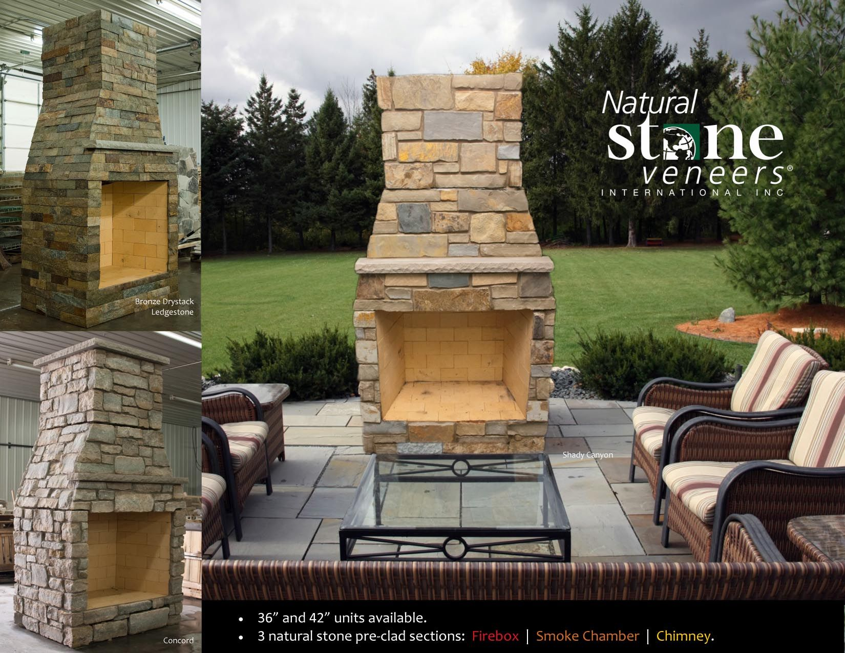 Outdoor Patio Fireplaces