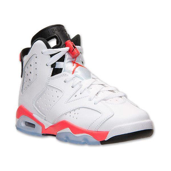 Kid's Nike Air Jordan 6 VI Retro (GG) Black Volt Turbo Green Sneakers : K84z4619