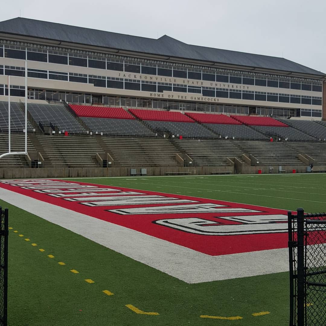 Jacksonville State University Stadium Pregame Photo By Daughter In Law Windy Jones 10 3 2015 Slj Jacksonville State Jacksonville Calhoun County