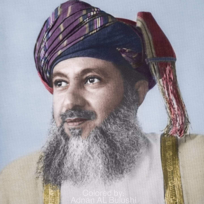 Sultan Said Bin Timor The Father Of Sultan Qaboos Oman Sultan Qaboos Sultanate Of Oman Oman