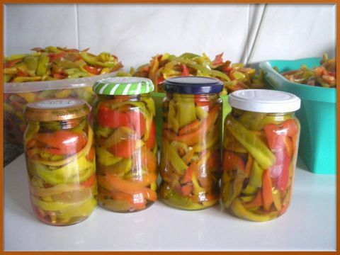 I Miei Peperoni In Agrodolce By Adele Manidifata Pagina 1 Ricette Ricette Di Cucina Peperoni