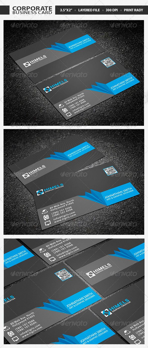 Creative corporate business card 02 corporate business business creative corporate business card 02 colourmoves