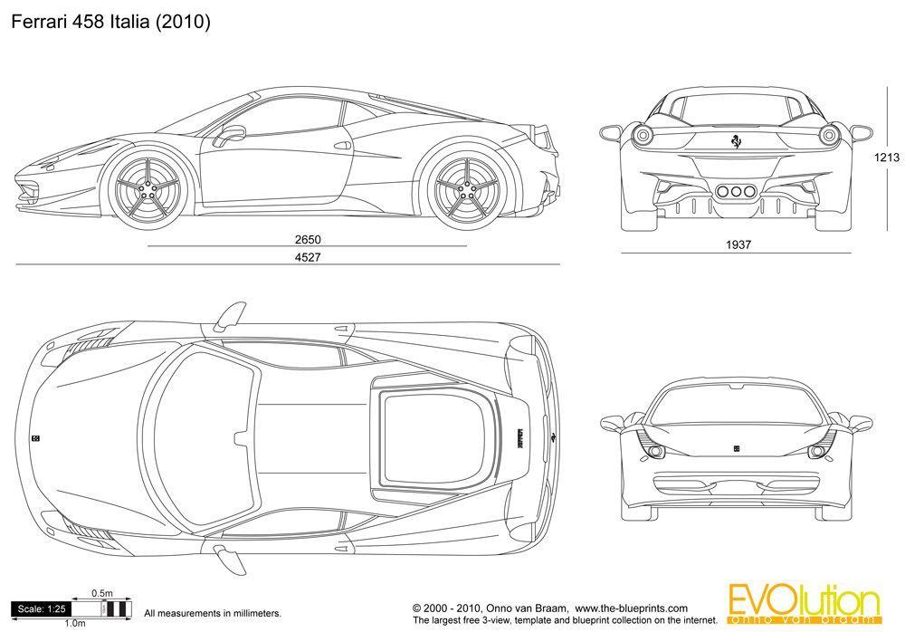 Ferrari enzo engine blueprints pinterest malvernweather Gallery