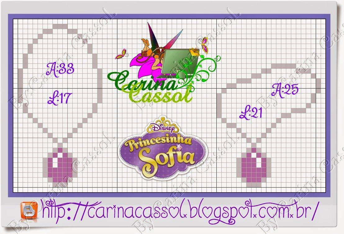 16 Ideas De Sofia Princesa Punto De Cruz Disney Punto De Cruz Princesa