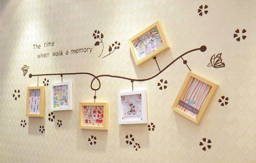 Ufingodecor muro farfalle vite creativo fiore foto adesivi for Stickers murali cucina
