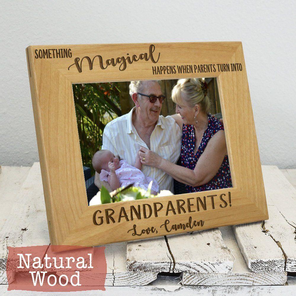 Grandparents Frame - Gift for Grandparents from Grandchildren ...