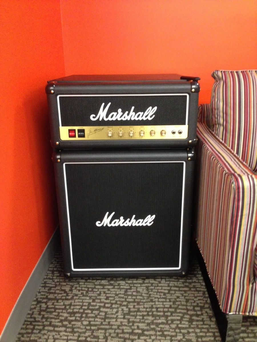 Home for the home marshall fridge - Find This Pin And More On For The Home Marshall Amp Mini Fridge