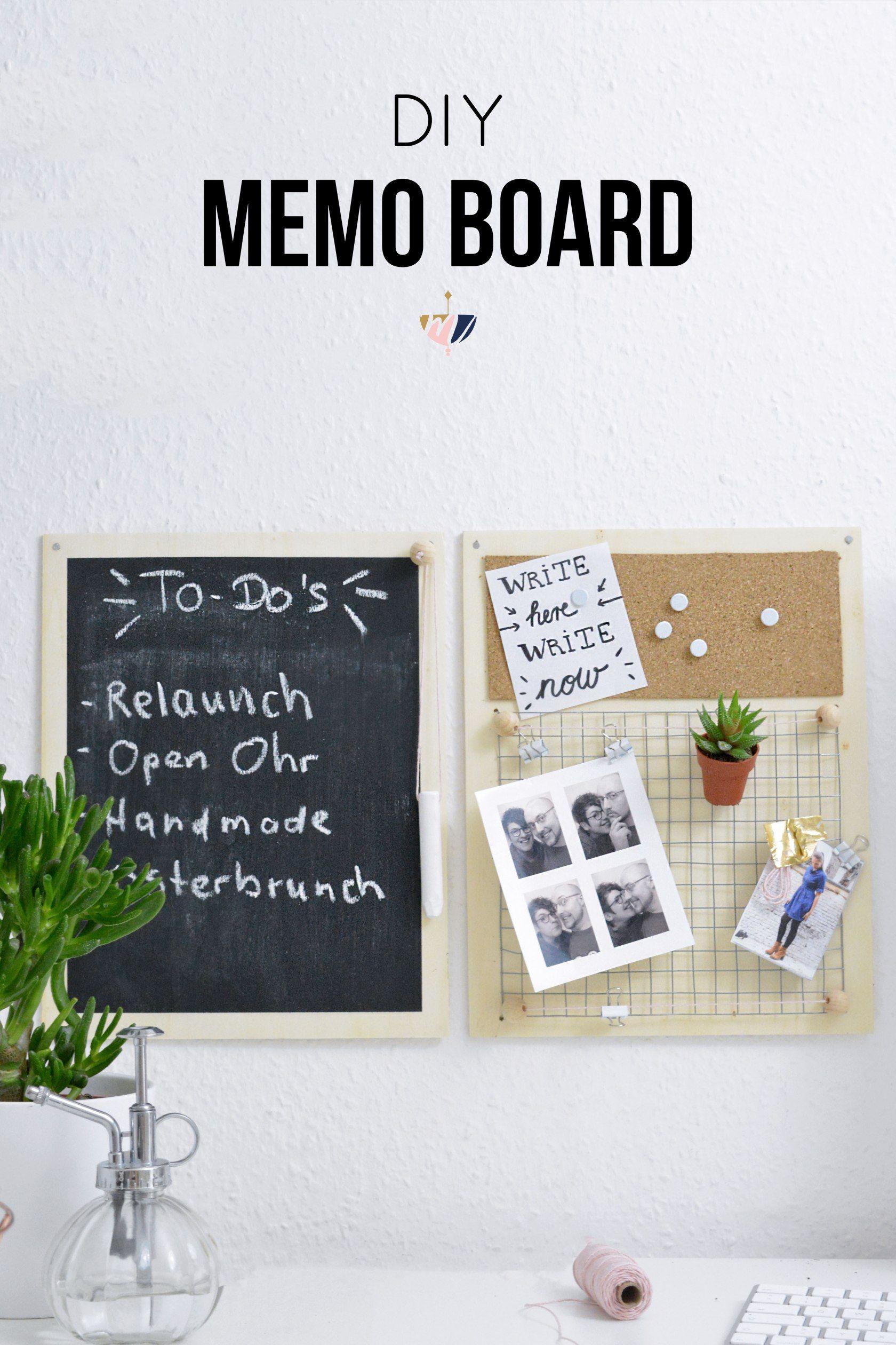 diy holz memo board arbeitszimmer pinterest diy diy memo board und diy videos. Black Bedroom Furniture Sets. Home Design Ideas