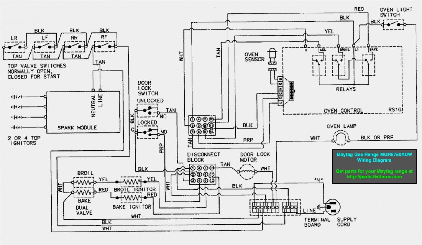 24 Wiring Diagram For Electric Stove Electric Dryers Washing
