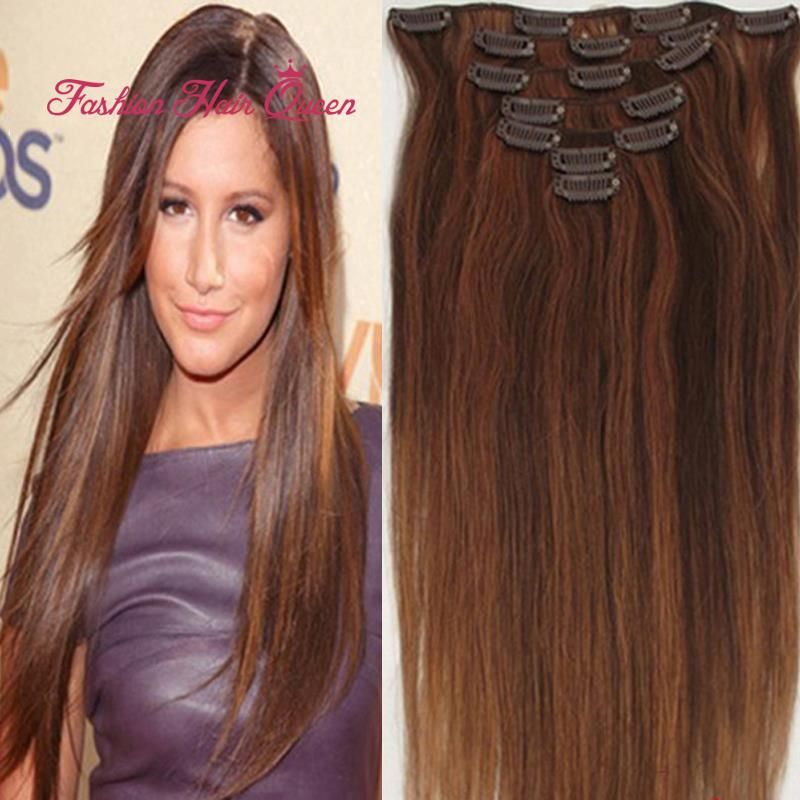 Find More Human Hair Extensions Information About 430 Dark Brown