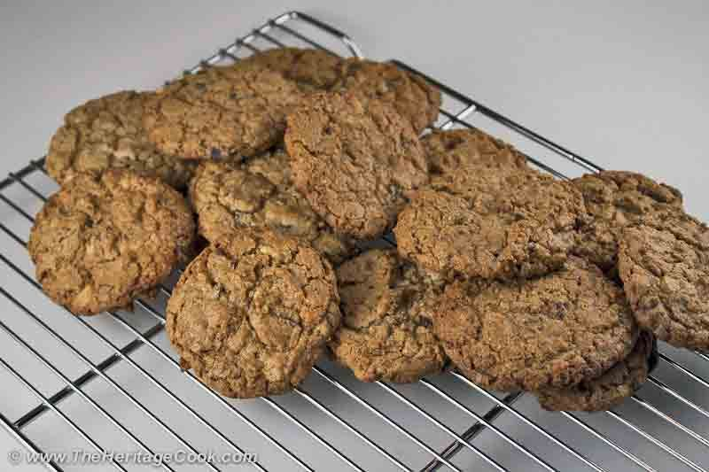 Toasted Coconut Double Choco-Chunk Cookies for Chocolate Monday! - The Heritage Cook®