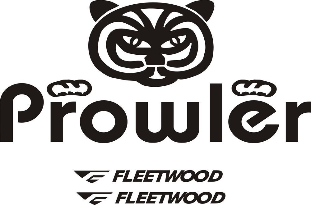 Details about Fleetwood prowler large RV sticker decal graphics