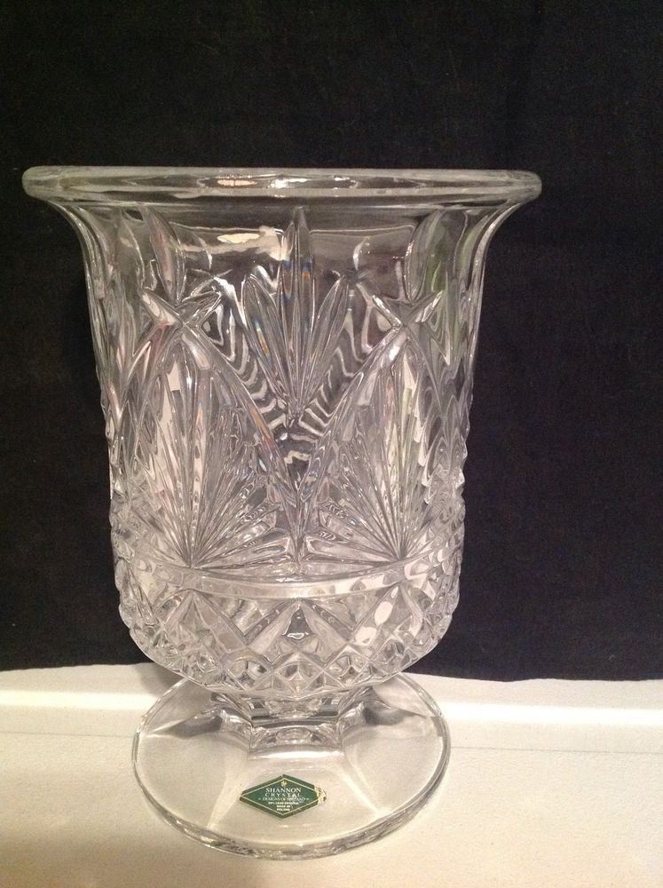 Shannon Crystal Designs Of Ireland Diane Hurricane Lamp Candle