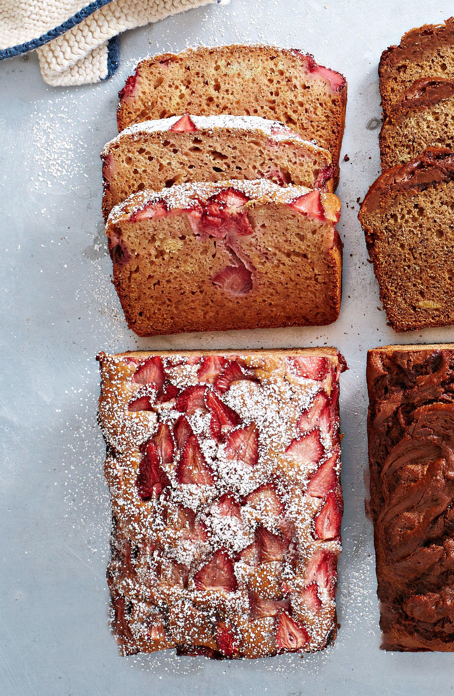 Strawberry Pear And Vanilla Bread Recipe Baking Strawberry