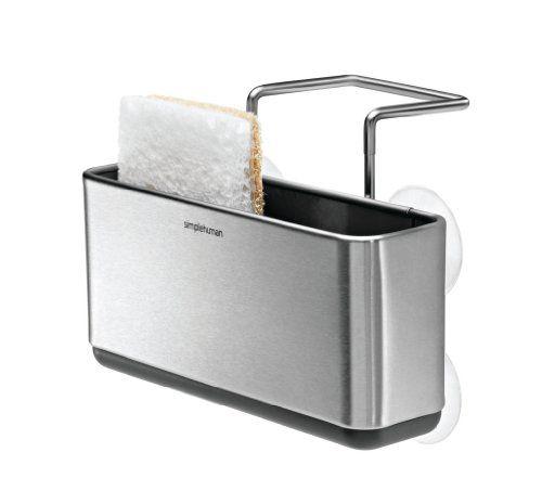Best Simplehuman Slim Sink Caddy Stainless Steel Sink Caddy 400 x 300