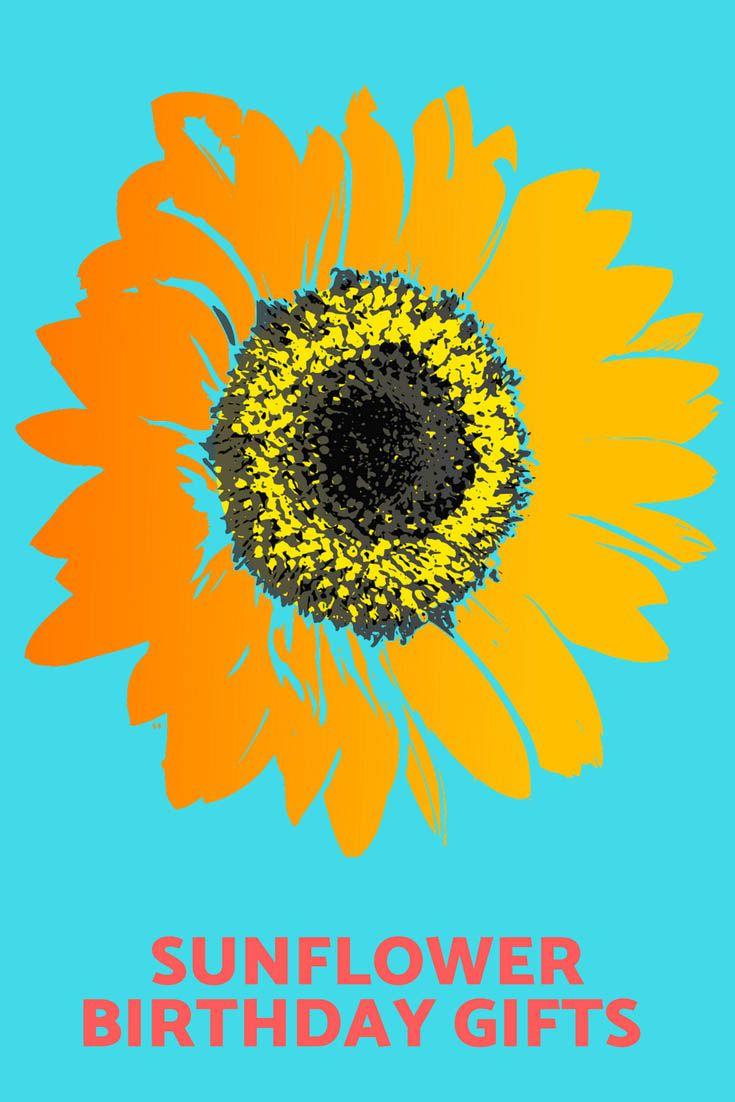 Sunflower Gift Ideas For Her 2021