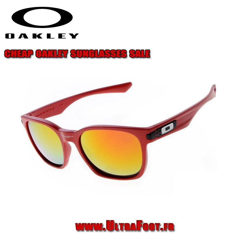 discount oakley garage rock cadre rouge feu iridium ultrafoot rh pinterest com