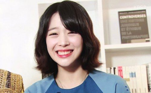 10 Adorably Charming K Pop Idols With Cute Eye Smiles Cute Eyes Sulli Pretty Baby