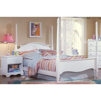Carolina Furniture Works, Inc. Carolina Cottage Princess Four Poster Bed K