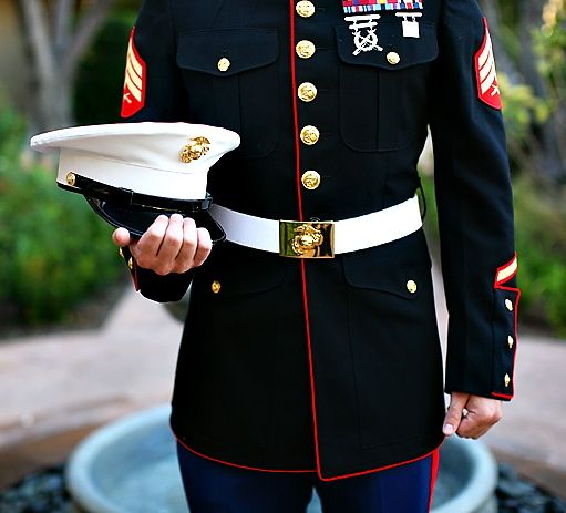 Marine Corps Dress Blues Sexiest Uniform Ever Created Drool