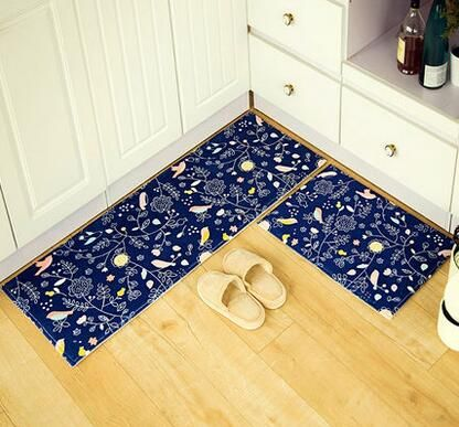 2pcs Lot Bathroom Floor Mat Set Doormats Balcony Kitchen Rugs