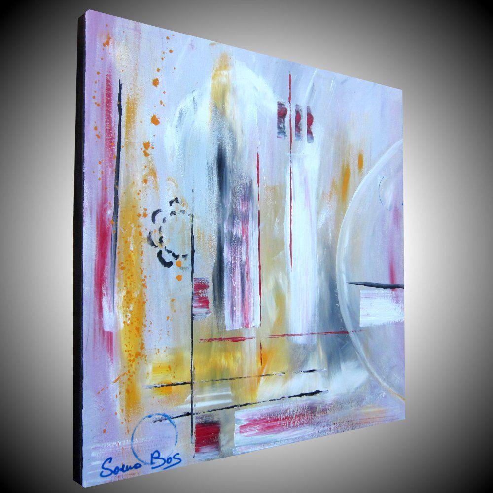 quadro astratto moderno olio su tela misura 60x60 sito web. http ...