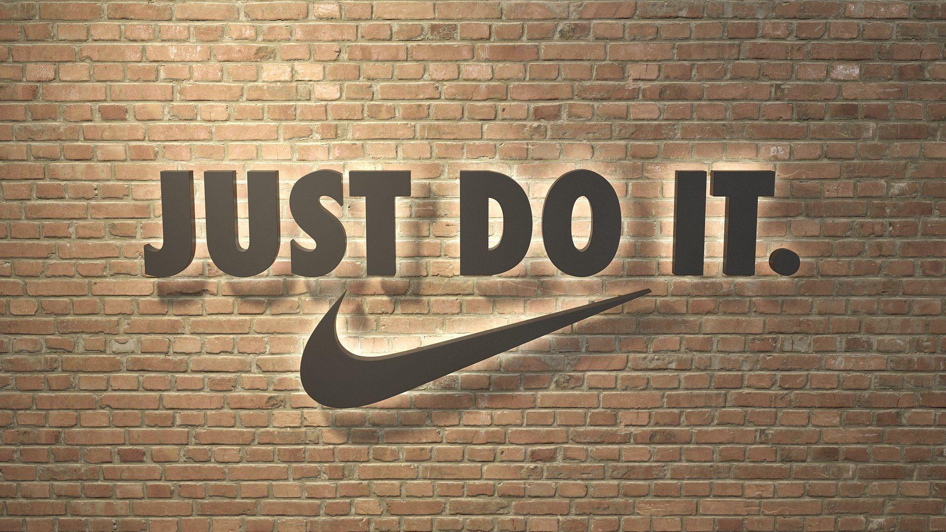 logo sign Nike Just do it 3d , Sponsored, meshversions