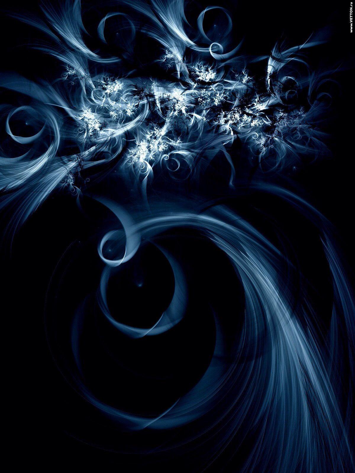 Blue/black wallpaper | Abstract, Wallpaper tree of life ...