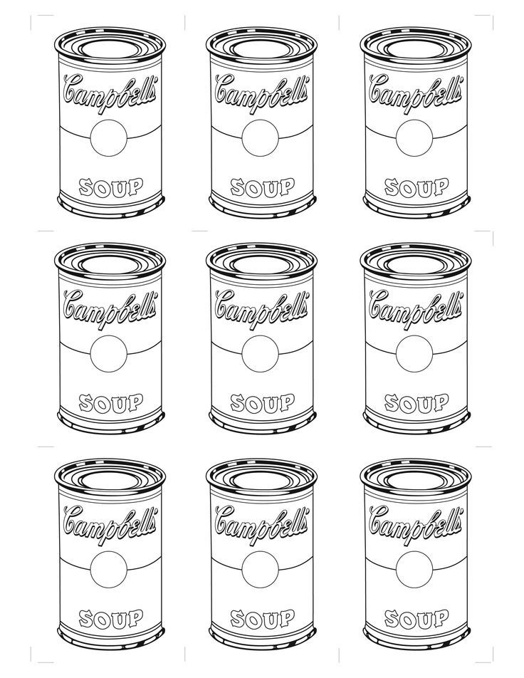 Free Andy Warhol Coloring Pages Free Download Free Clip Art Free Clip Art On Clipart Library Andy Warhol Pop Art Andy Warhol Art Warhol Art