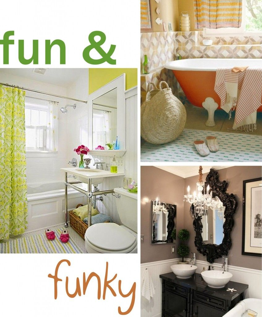 Badezimmer ideen gelb fun and funky  cool bathrooms  bathroom  pinterest