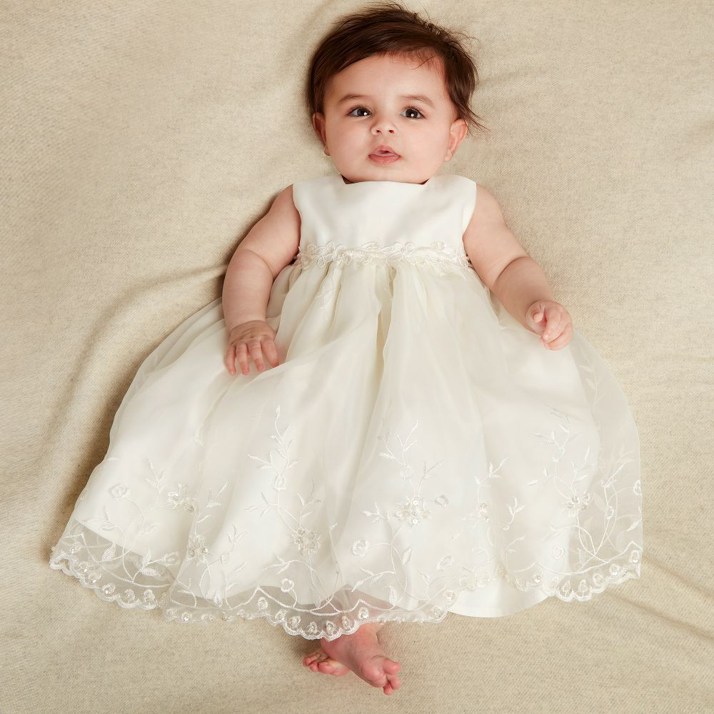 713870278126 Adorable Romano Princess Baby Girls Ivory Dress & Jacket Set. Perfect Party  Dress for a Little Princess.