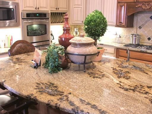 Pink Marble Kitchen Counters Granite Countertop By Ortega