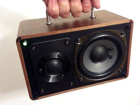 Convert A Speaker To A Battery-powered Amplifying Party Box