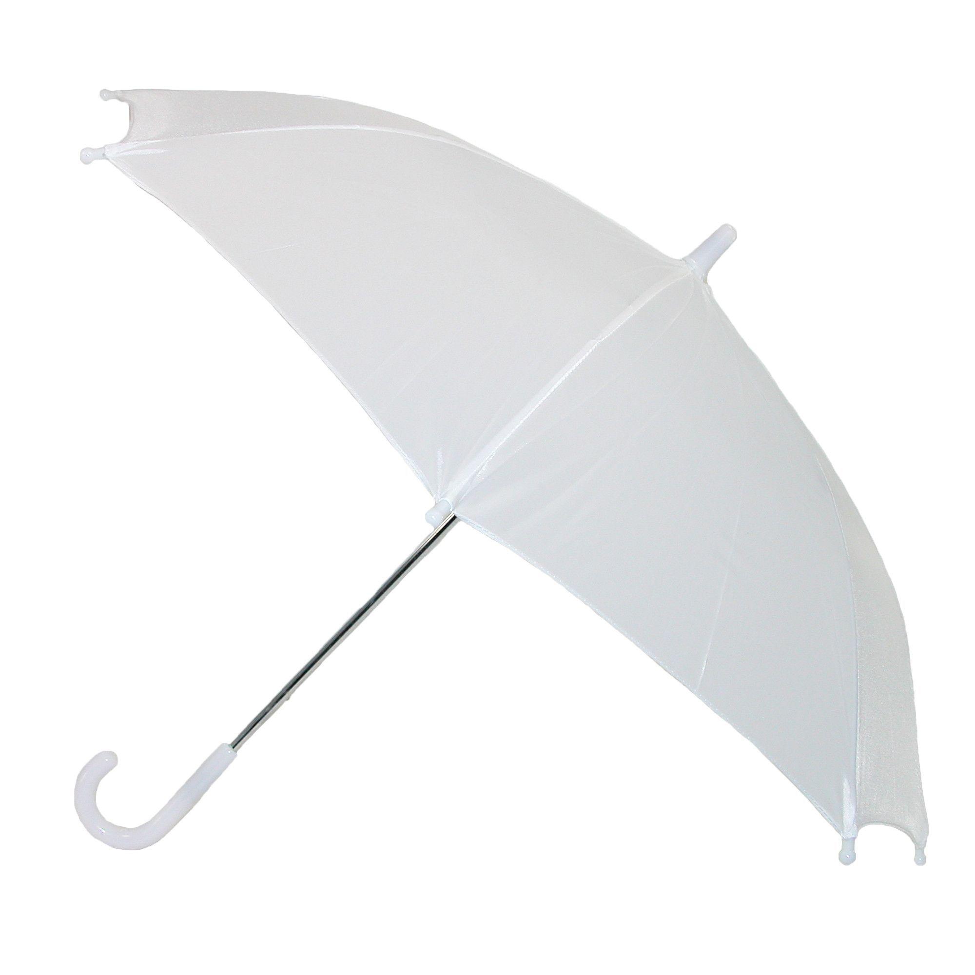 Black CTM Kids/' Solid Color Stick Umbrella