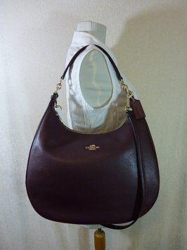 25c3c295fd Harley Oxblood Large Burgundy Leather Hobo Bag