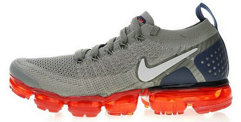 low priced 239c7 e1847 Nike Air Vapormax 2 Wolf Grey Navy Red Genuine Sneaker